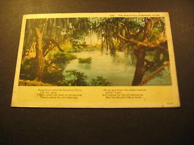 The Beautiful Suwannee River, about 1929