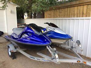Yamaha GP1300R and Kawasaki Ultra 150