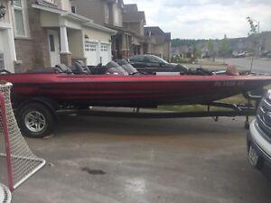 1996 pro 201 stratos bass boat