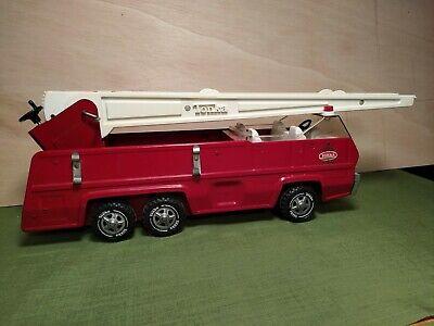Modell Feuerwehrwagen Antik Eisen L.36x17x15cm Eisen Blech Geschenk Oldtimer