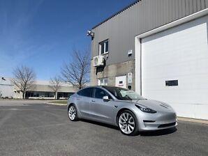 Tesla 3 long range awd 2018 autopilote et FSD activé