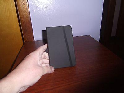 New Black Vinyl Pocket Notebook