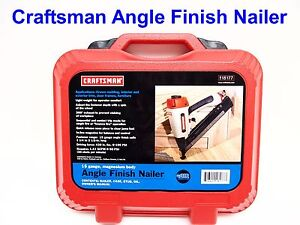 Craftsman #18177 Pneumatic 15 Gauge, Angle Finish Nailer - BRAND-NEW -