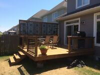 Deck & Fence Build