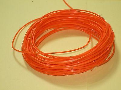 25ft - 24awg- Orange Stranded Hook Up Wire