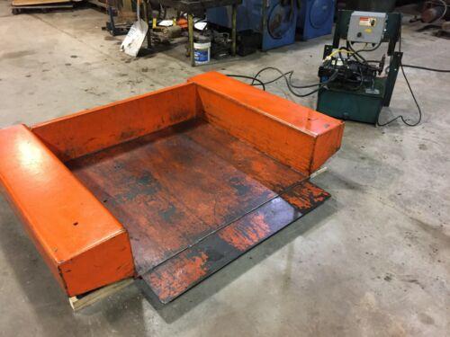 Xzt50-40 Presto/lee Engineering 4000lbs Cap Drive On Lift & Tilt Table
