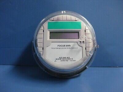 Landis Gyr Focus 320 Amp Watthour Metertype Alfform 2se240v3w60hz50kh12