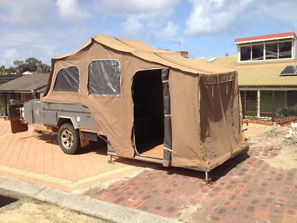 Off-Road Camper Trailer hard Floor Padbury Joondalup Area Preview