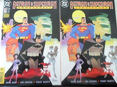 2 x Comic - Batman & Superman Sonderband 1 - Dino - DC- Z.1-2