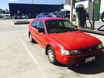 1999 Toyota Corolla Hatchback East Perth Perth City Preview