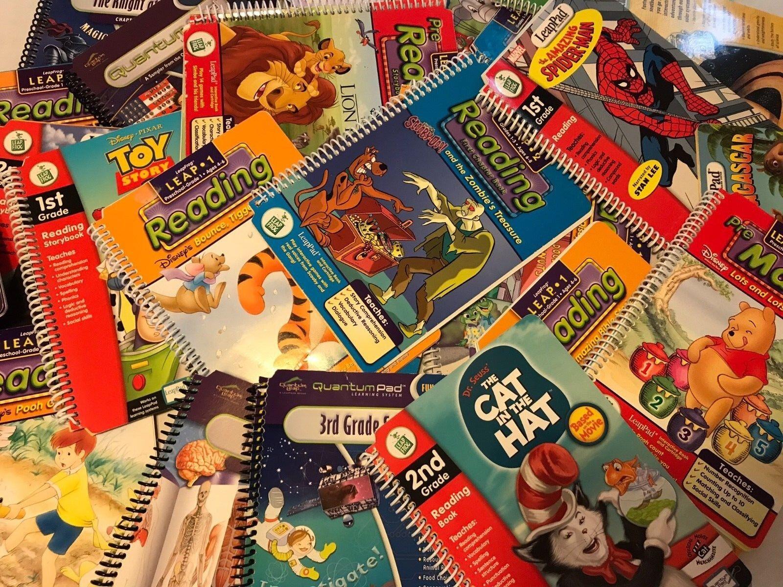 Leap Frog Books & Cartridges LeapPad Library Quantum U Pic B