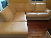 5 seat leather chaise lounge North Sydney North Sydney Area Preview