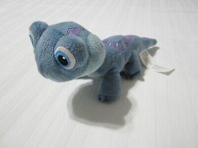 "9"" Disney Frozen 2 Bruni Fire Salamander Lizard Plush Stuffed Toy Just Play EUC"