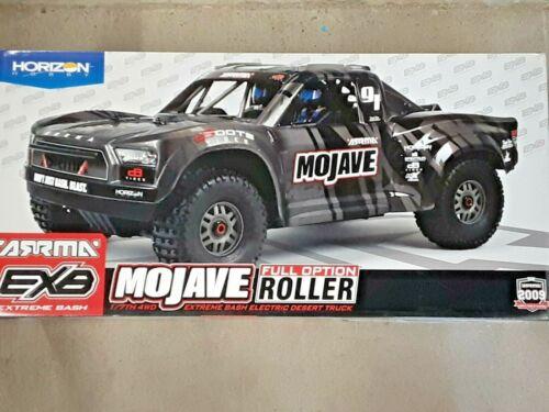 Arrma Mojave 6S EXB Extreme Bash Roller 1/7 4WD Desert Truck Black ARA7204 New!!