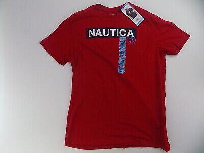 Men's Nautica graphic  t-shirt red Large