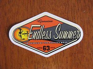 Endless-Summer-Vintage-Surf-Surfing-Surfboard-Woodie-Skateboard-STICKER-DECAL