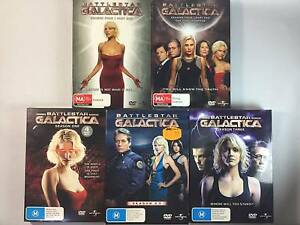 Battlestar Galactica Season 1 to 4 [$5 Each] Karama Darwin City Preview