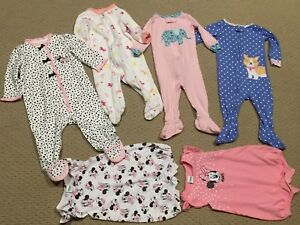 6 month baby girl clothing lot