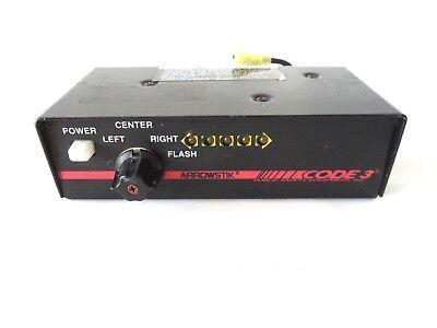 Code 3 Arrowstik Switch Control Head Lightbar Controller