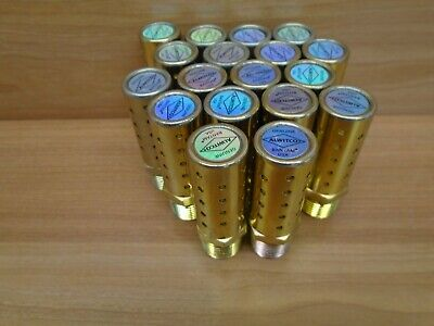 Lot Of 18 Alwitco Bantam 12 In. Muffler Nos Silencers