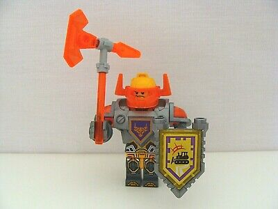Lego Nexo Knights Axl Minifigure With Shield And Weapon From Set 70350