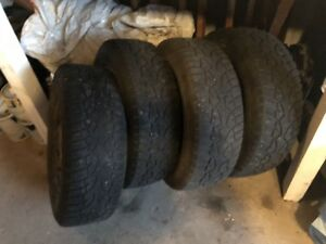 Winter tires 215-70r-16