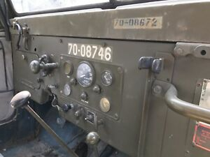 1975 Canadian M38A1 CND-3 RARE (with winch)