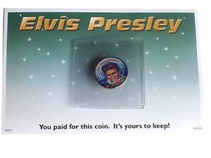 Rare Collectable Elvis Presley 30th Anniversary Mississippi Coin Mint 2002