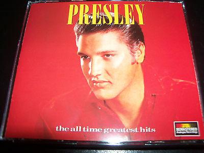 Elvis Presley All Time Greatest Hits Best of Early Print Australia 2 CD Like