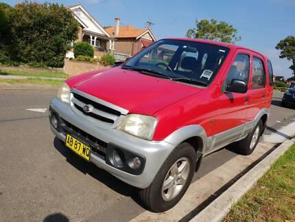 2004 Daihatsu Terios SUV one owner Granville Parramatta Area Preview