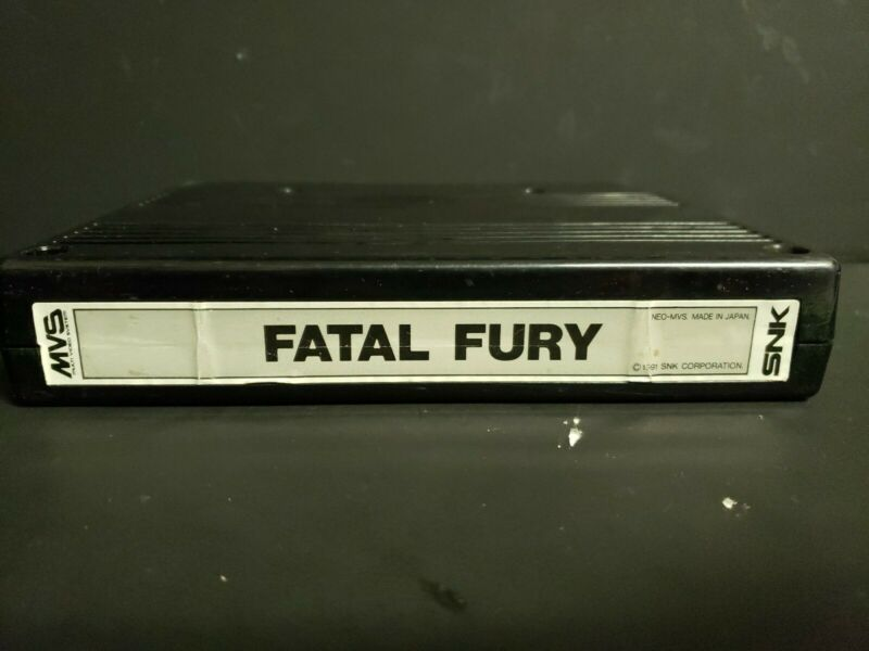 Fatal Fury Neo Geo MVS Authentic Cart Tested