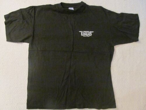 1996 THE EAGLES BLACK LOCAL CREW SHIRT-NEVER WORN + BACKSTAGE PASS