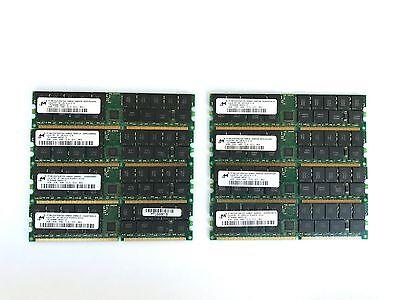 16GB 8x 2GB DDR 400 PC3200R ECC REG Registered Server RAM Memory DDR400 PC-3200R