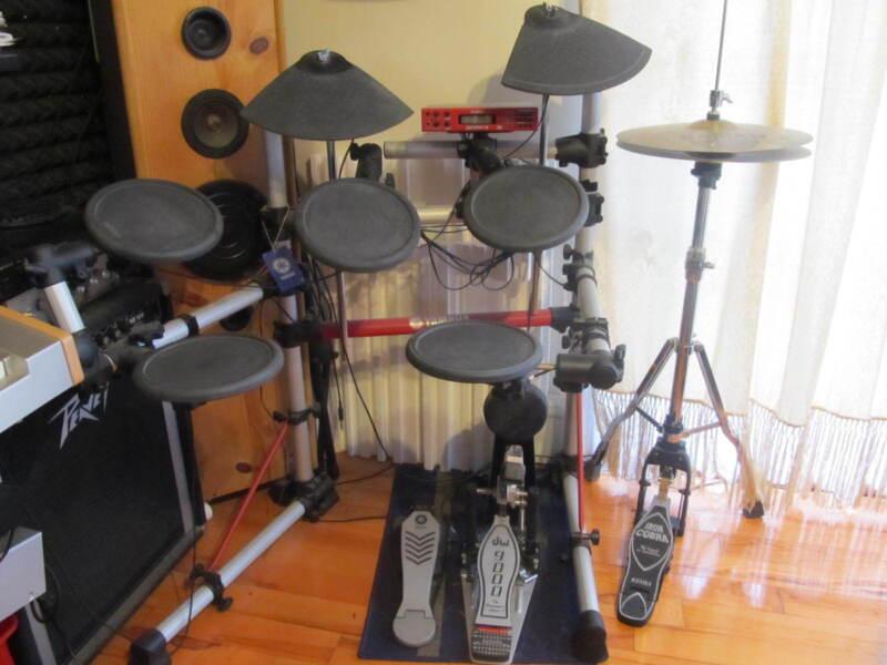 Used Yamaha Electronic Drum Set