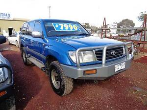 1998 Toyota LandCruiser Wagon Mansfield Mansfield Area Preview