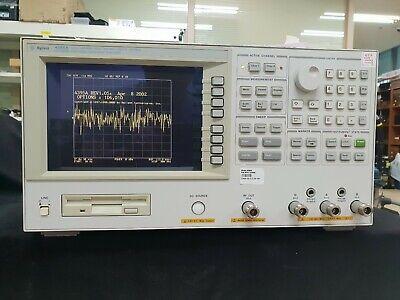 Agilent 10hz-500mhz Networkspectrumimpedance Analyzer 1d6 010 1d5