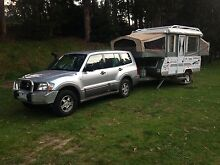 Australian Outback Package - Pajero 4X4 and Jayco Dove Outback Fremantle Fremantle Area Preview