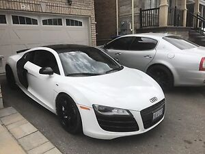 2010 Audi R8 V10 6spd manual 60,600km  $95,999