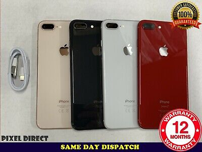 Grade A/B Apple iPhone 8 Plus 64GB 256GB Unlocked Model A1897 2017