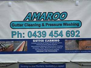 Amaroo gutter cleaning and pressure washing Kurrajong Hawkesbury Area Preview