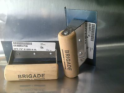 Two Brigade 6 Hand Held Concrete Sidewalk Edger Tools Lot