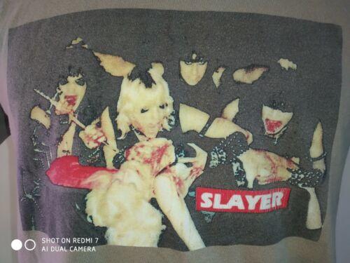Tee shirt supreme x slayer altar stone bon état introuvable faire offre t-shirt