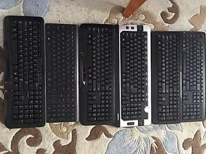 bulk lot - 6 Wireless keyboards and 2 wireless mouse HP Microsoft Surfers Paradise Gold Coast City Preview