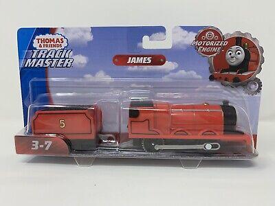 Motorized Trackmaster Thomas & Friends Train Tank Engine Snow Snowy Storm James