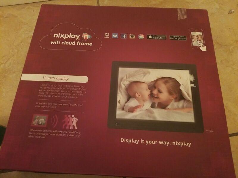Nixplay Original 12 Inch WiFi Cloud Digital Photo Frame.