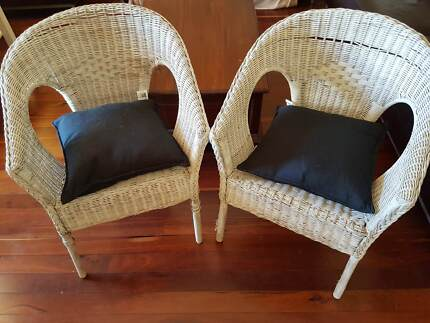 urgent must sell rattan chair dining chairs gumtree australia