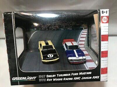 """Greenlight Green Machine """"Road Racers"""" Trans AM Series 3 Diorama: 1:64 MIB!"""