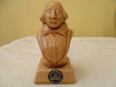 'WILLIAM SHAKESPEARE' NOVELTY BOTTLE