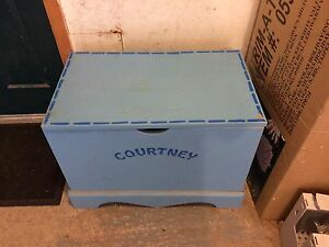Toy box for Courtney