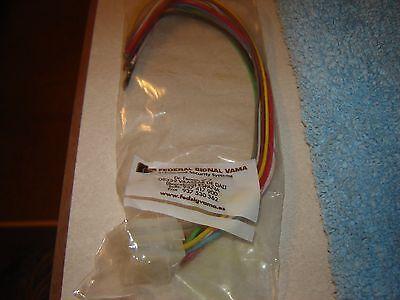 Federal Signal Lightbar Connector Ss2000 Or Pa300 Nos